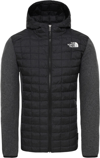 The North Face ThermoBall Gordon Lyons Veste à capuche Homme, tnf blackgraph greydk grey heather